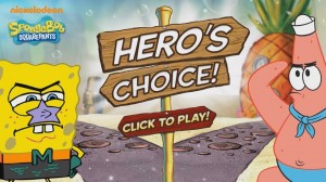 Play Spongebob Squarepants Games: Hero's Choice