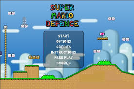 Play Super Mario Bros Defence