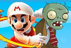 Play Super Mario Shoot Zombies