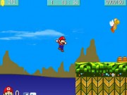 Play Super Mario Bros In Sonic World
