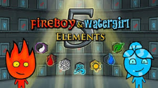 Play Fireboy And Watergirl 5