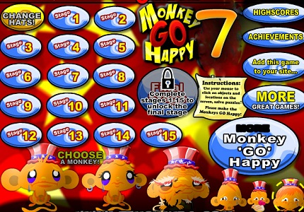 Play Monkey Go Happy 5