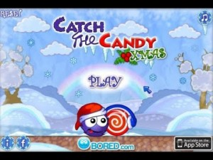 Play Catch the Candy Xmas