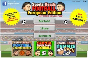 Play Sports Heads Soccer Championship
