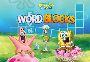 Play Spongebob Word Blocks