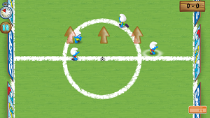 Play Smurfs Football Match
