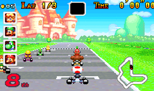 Play Super Circuit Kart
