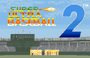 Play Super Ultra Baseball 2