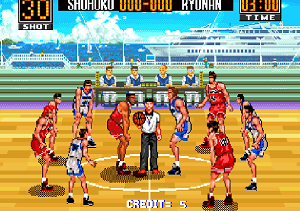 Play TV Animation Slam Dunk: Super Slams