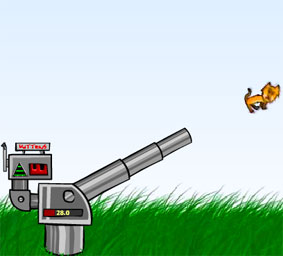 Play Kitten Cannon