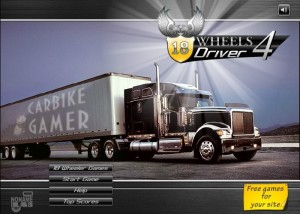 Play 18 Wheels Driver 4