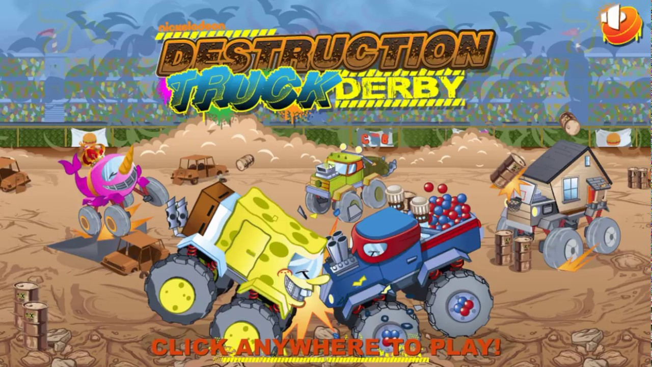 Play Destruction Truck Derby