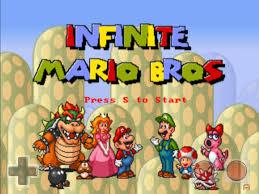 Play Infinite mario