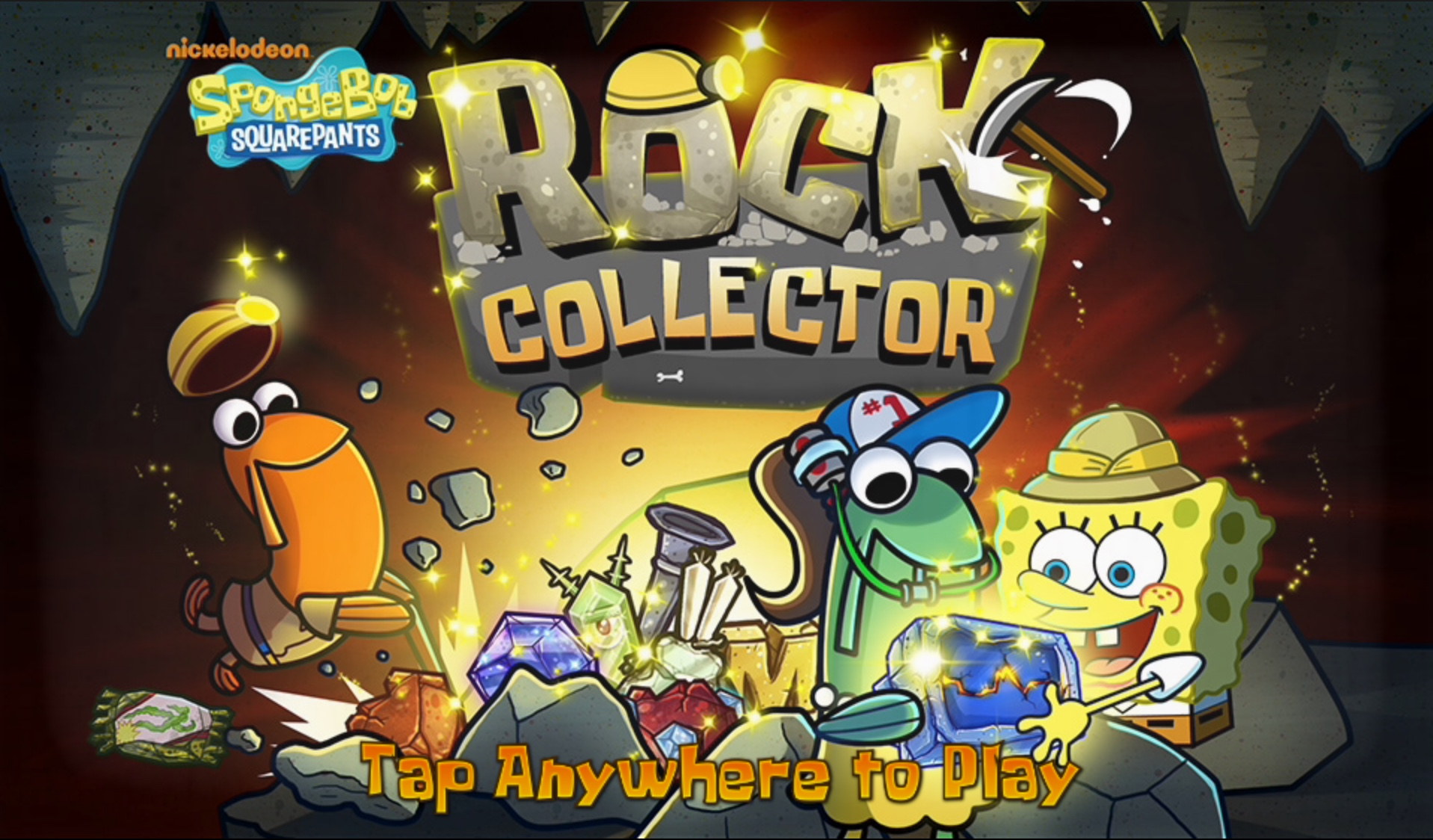 Play Spongebob Squarepants: Rock Collector
