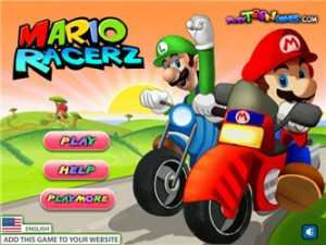 Play Mario Racerz