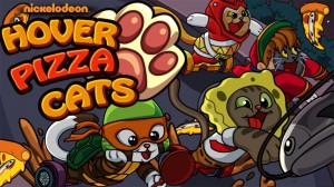 Play Spongebob Games: Hover Pizza Cats