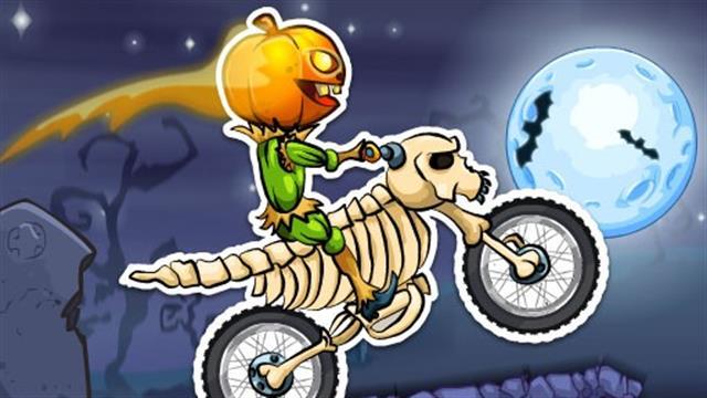 Play Moto x3m spooky land