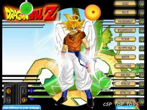 Play Dragon Ball Z Dress Up