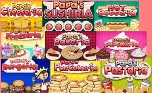 Play Papa's games