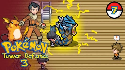 Play Pokemon Tower Defense 3
