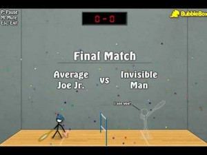 Play Stick Figure Badminton