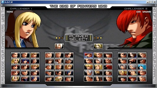 Play King of fighters wing