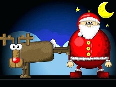 Play Super Santa Kicker
