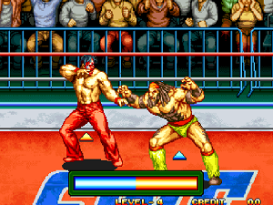 Play 3 Count Bout (Arcade)