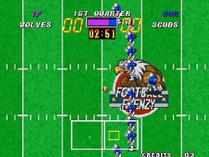 Play American Football Frenzy (Arcade)