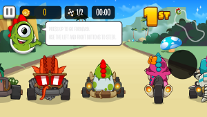 Play Kizi Kart Racing