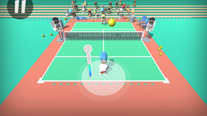 Play Mini Tennis 3D