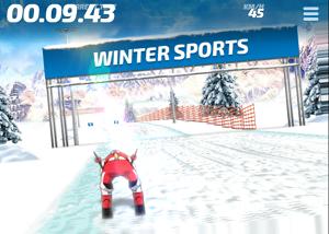 Play Slalom Hero