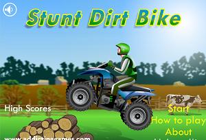 Play Stunt Dirt Bike