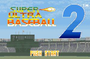 Play Super Ultra Baseball 2