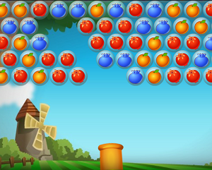 Play Bubble Fruit