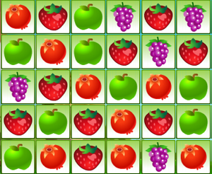 Play Fruit Flip Match 3